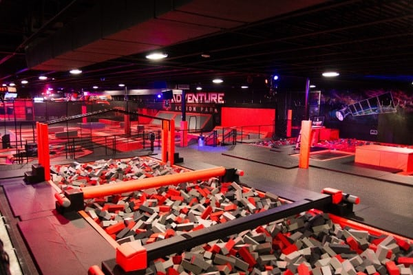 Adventure Action Park Knoxville Knoxville - Trampoline Park Knoxville